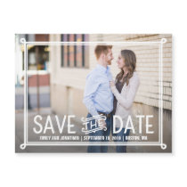 Landscape Photo Save the Date Magnet Wedding