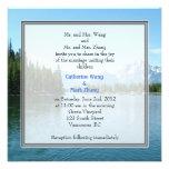 Landscape photo wedding invitations. Grand Teton Invitation