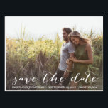 "Landscape Photo Wedding Save The Date Postcard<br><div class=""desc"">Send our horizontal picture save the date postcards to let your guests know to block off your wedding date. Tip: if you need to change the wording that is in the rustic script font, you can go to the ""Personalize This Template"" section then click the ""Click to Customize Further"" at...</div>"