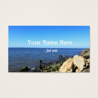 Landscape photography business cards. business card