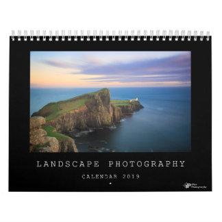 Landscape photography calendar for 2019
