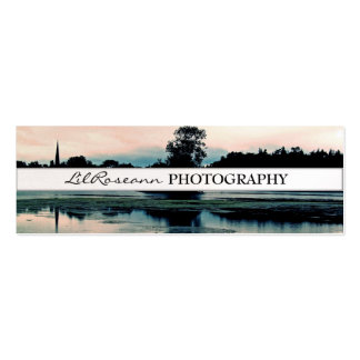 Landscape - Photography Double-Sided Mini Business Cards (Pack Of 20)