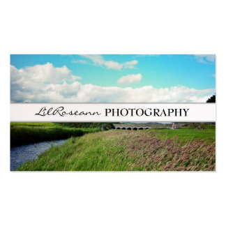 Landscape - Photography Double-Sided Standard Business Cards (Pack Of 100)