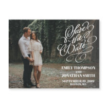 Landscape Picture Save the Date Magnet Wedding