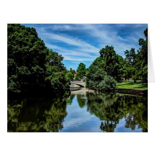 Landscape picture taken at Turtle Creek Dallas, TX Cards