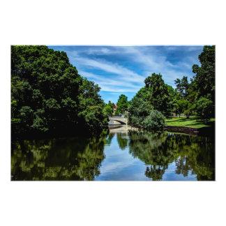Landscape picture taken at Turtle Creek Dallas TX Photograph