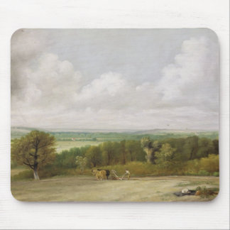 Landscape: Ploughing Scene in Suffolk (A Summerlan Mouse Pad