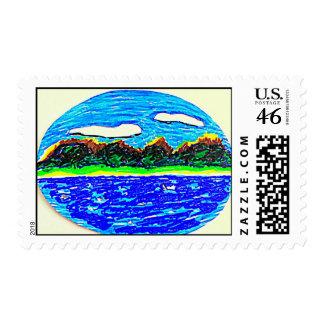 Landscape Postage Stamp