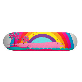 Landscape Rainbow Skateboard