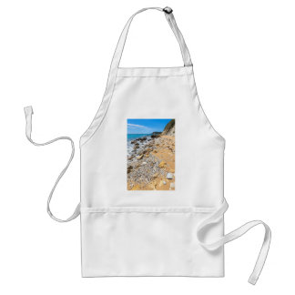 Landscape rocky coast Kefalonia Greece Adult Apron