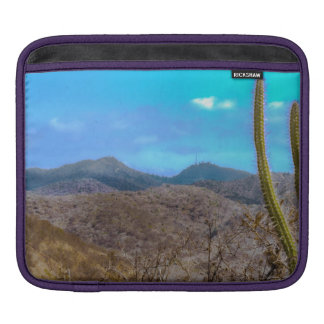 Landscape Scene Machalilla National Park Ecuador iPad Sleeve