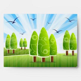 Landscape Scenery Envelope