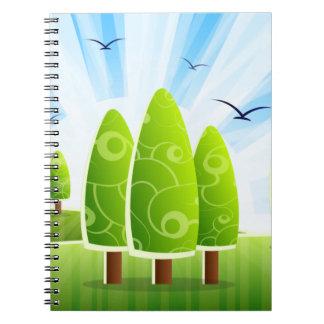Landscape Scenery Notebook