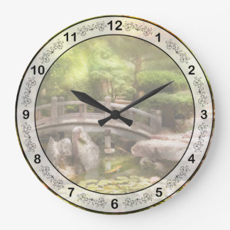 Landscape - Simply paradise Large Clock