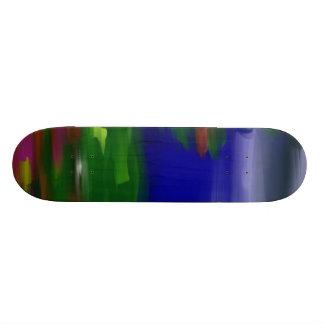 landscape skate board deck