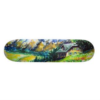 Landscape Skateboard Deck