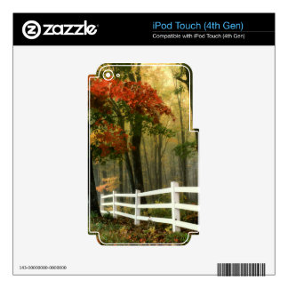 Landscape iPod Touch 4G Decals
