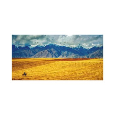 USA Themed Landscape | Sky | Mountains Canvas Print