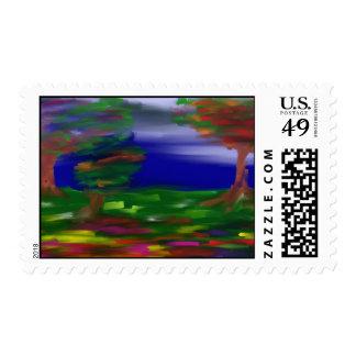 landscape stamps
