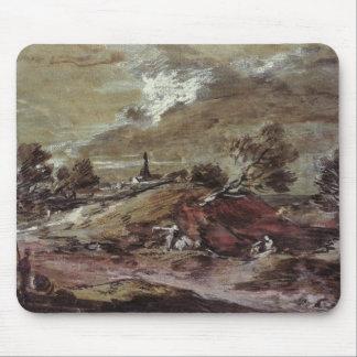 Landscape: Storm Effect, 18th century Mouse Pad
