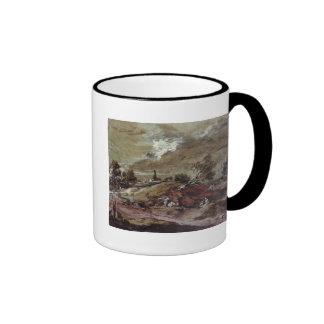 Landscape: Storm Effect, 18th century Ringer Mug