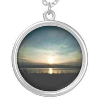 Landscape Sunset Reflection necklace