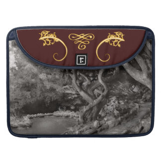Landscape - The Forbidden Forest Sleeve For MacBook Pro