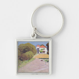 Landscape, The House with the Red Roof, 1924 Key Chain