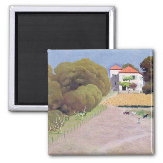 Landscape, The House with the Red Roof, 1924 Fridge Magnets