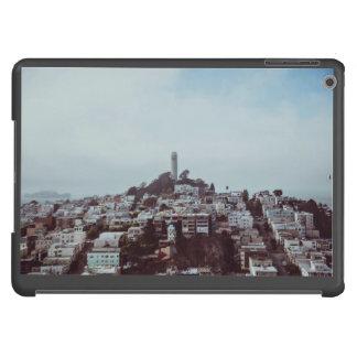 Landscape Themed, Housing Landscape Below The Towe iPad Air Case