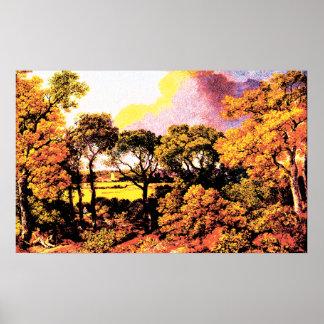 Landscape - Thomas Gainsboroug Poster