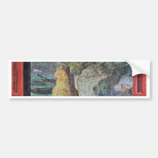 Landscape To The Odyssey By Römischer Meister Um 1 Car Bumper Sticker