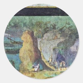 Landscape To The Odyssey By Römischer Meister Um 1 Sticker
