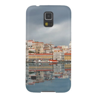 Landscape view of buildings in Lisbon, Portugal Galaxy S5 Cases