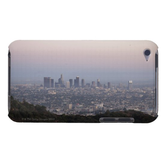 Landscape view of skyscrapers, Los Angeles Barely There iPod Case