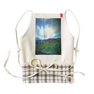 Landscape view zazzle HEART apron