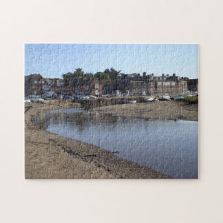 landscape vilage view by the sea photo jigsaw puzzle