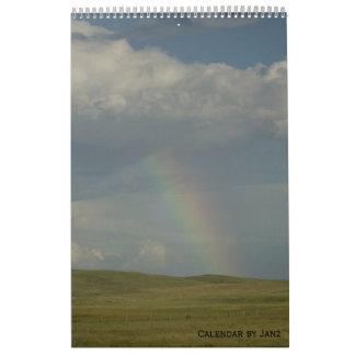 Landscape Wall Calendar by Janz