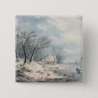 Landscape: Winter Button