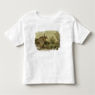 Landscape with a cottage toddler t-shirt