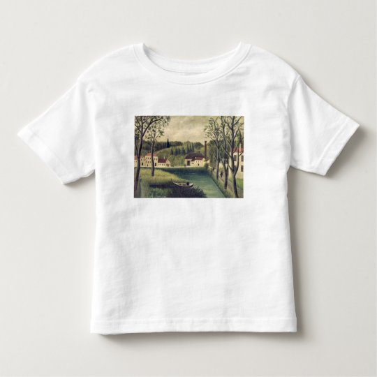 Landscape with a Fisherman, after 1886 Toddler T-shirt