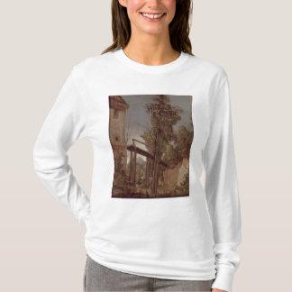Landscape with a Footbridge, c.1518-20 T-Shirt