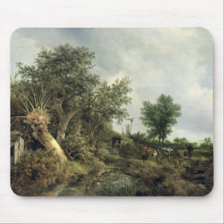 Landscape with a Hut, 1646 Mouse Pad