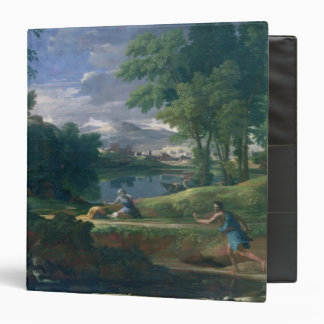 Landscape with a Man killed by a Snake, c.1648 Binder