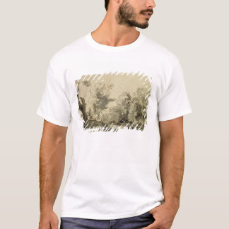 Landscape with a path,almost dead tree on left T-Shirt