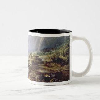 Landscape with a Rainbow Two-Tone Coffee Mug