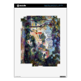 Landscape with a view of the Sacred Heart - Renoir iPad 3 Decal