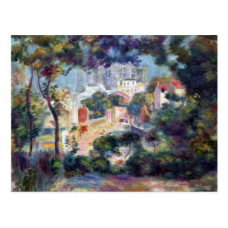 Landscape with a view of the Sacred Heart - Renoir Postcard
