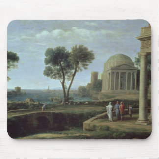Landscape with Aeneas at Delos, 1672 Mouse Pad