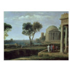 Landscape with Aeneas at Delos, 1672 Postcard